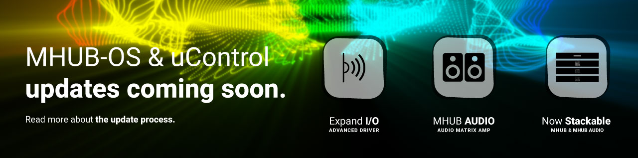 Installation instructions for updating your MHUB to MHUB-OS 8