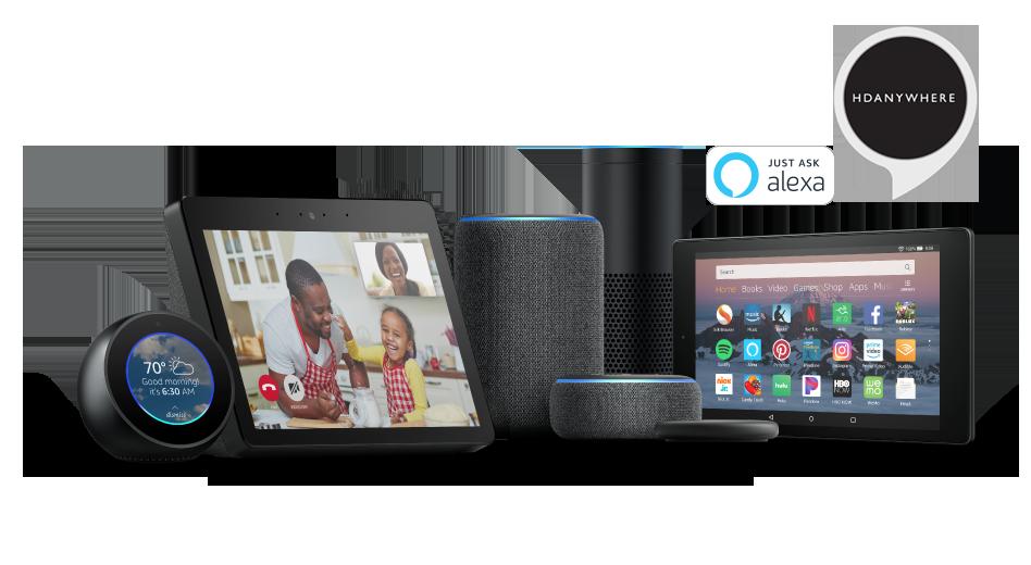 HDANYWHERE (HDA) Amazon Alexa App Skill
